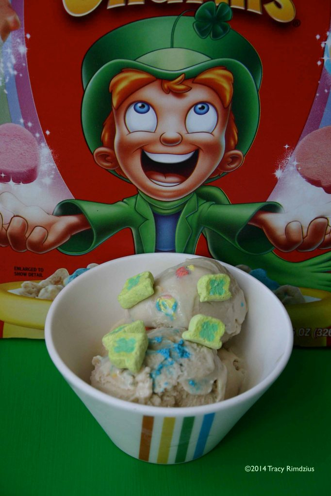 I'm always after his Lucky Charms.